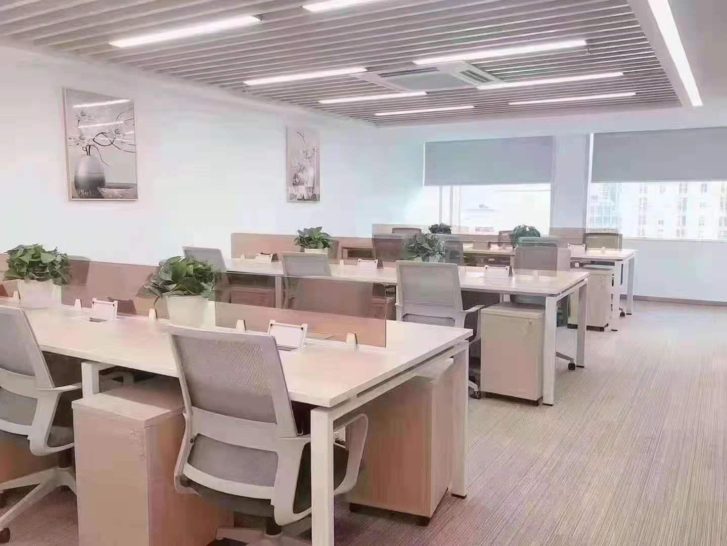 大上海时代广场出租256平精装修办公室