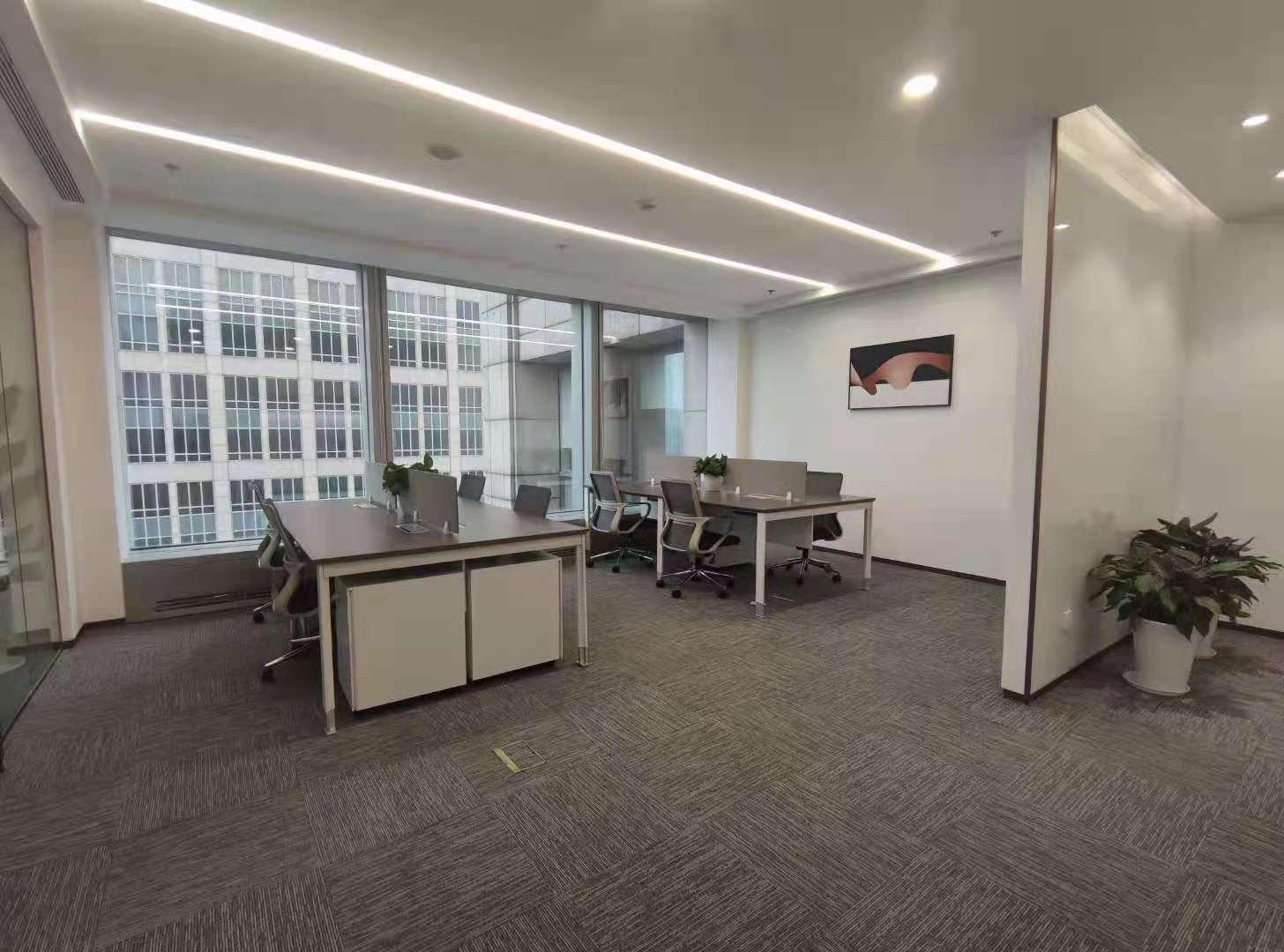 上海环球港共享办公室出租35人间带窗户