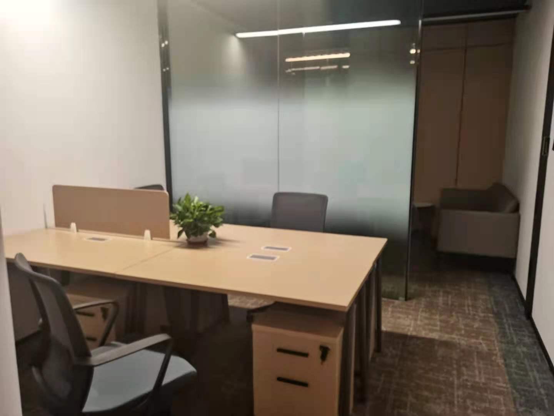 华鑫天地8人间带经理室的共享办公室出租