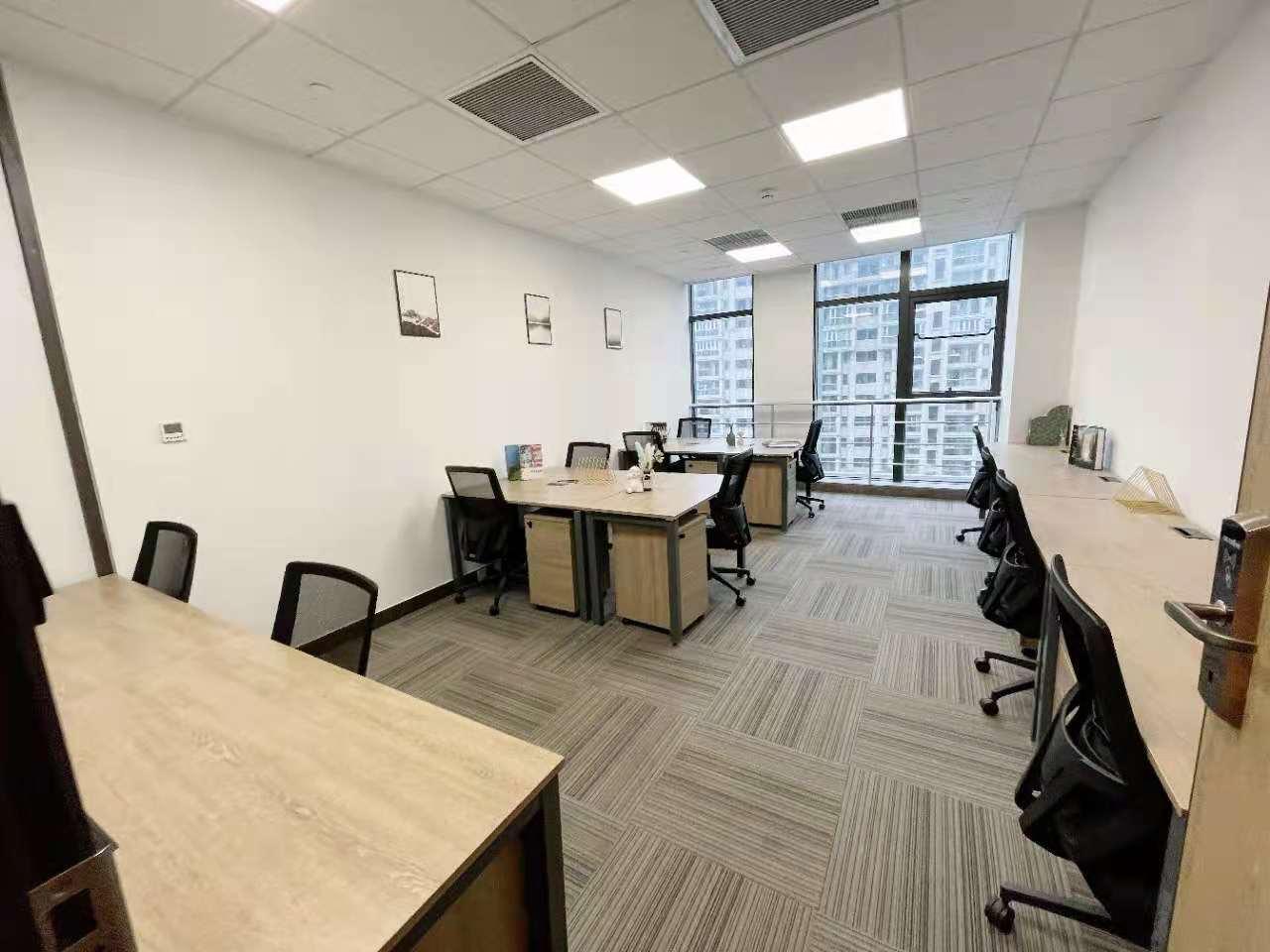 虹桥路文广大厦出租12人间共享办公室